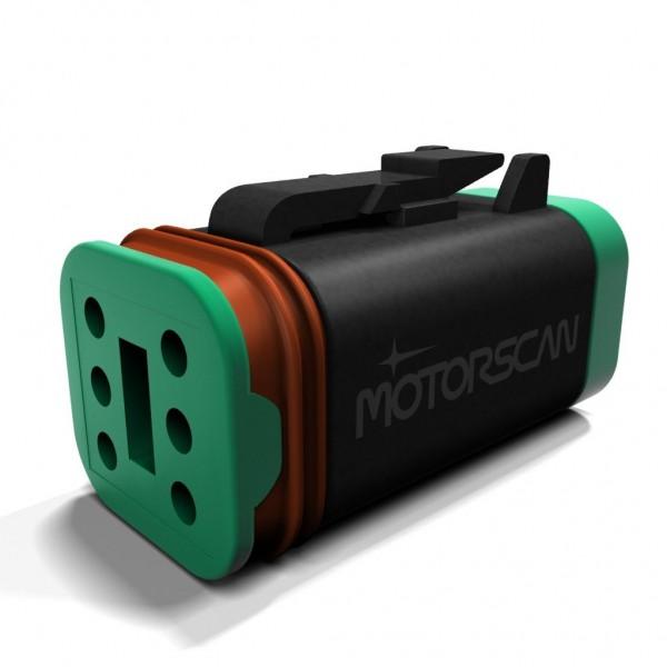 MotorScan Diagnoseadapter für Harley-Davidson incl. App für Android und iPhone