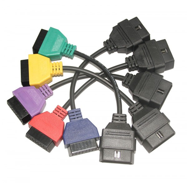 Multiecuscan Adapter Kabel Set