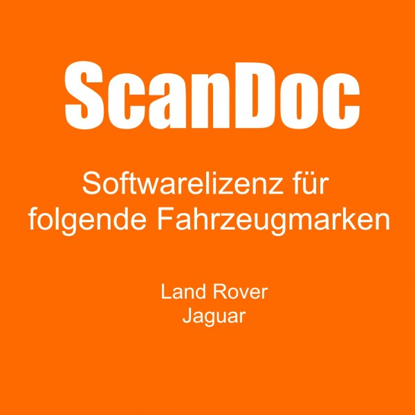 Diagnosesoftware für Land Rover