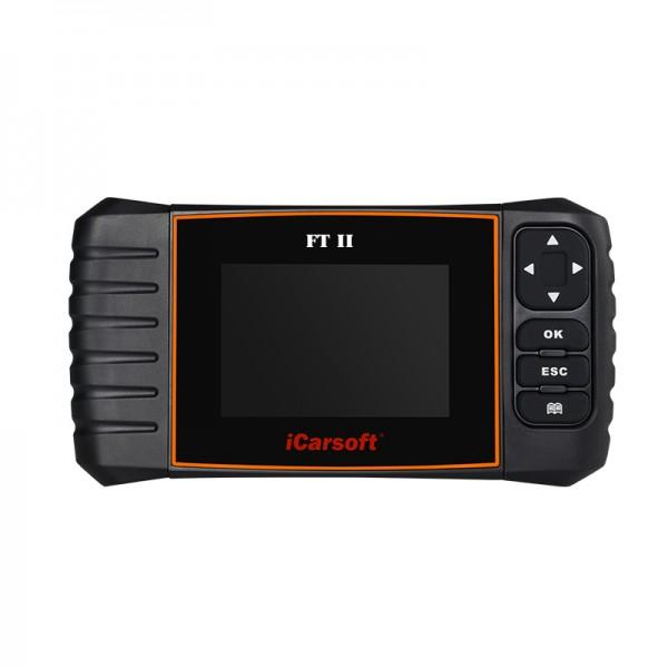 iCarsoft FT II für Fiat und Alfa Romeo OBD 2 Diagnosegerät Scanner Tool