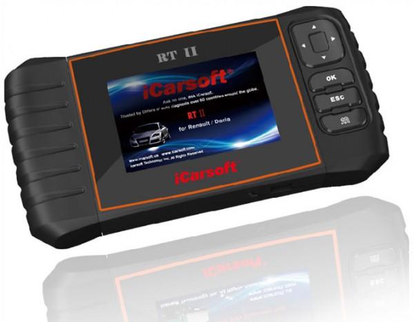 iCarsoft RT II für Reanult Dacia OBD Diagnosegerät