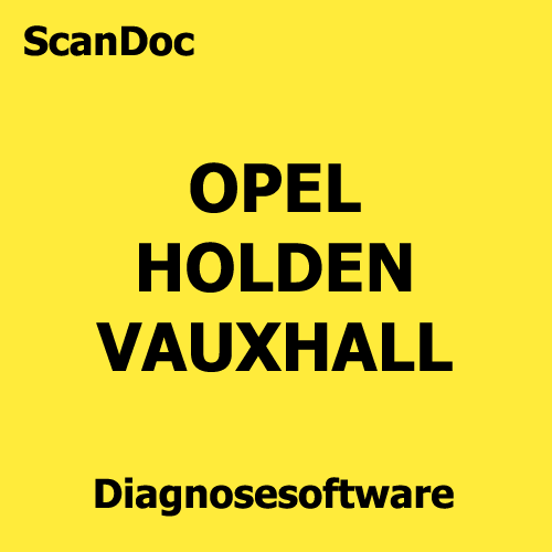 Kfz Diagnosesoftware Opel