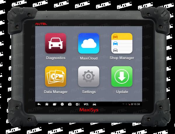 AUTEL MaxiSys MS908 PRO (Deutsch) Kfz Werkstatttester mit Flash Funktionen