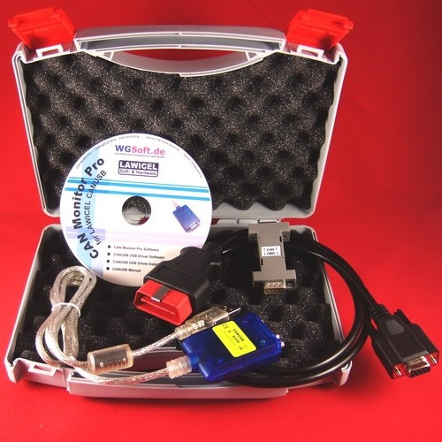 CAN Bus Analyser, Sniffer-Kit