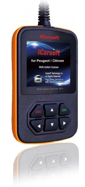iCarsoft i970 für Peugeot Citroen OBD Diagnosegerät